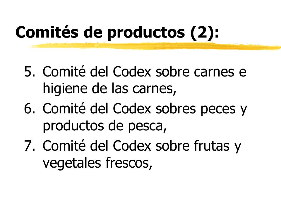 Comités de productos (2):