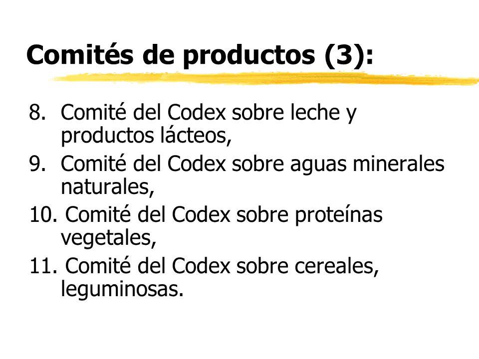 Comités de productos (3):