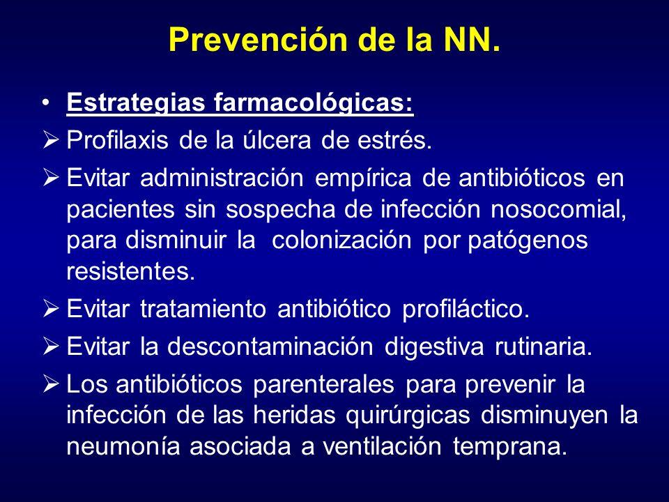 Prevención de la NN. Estrategias farmacológicas: