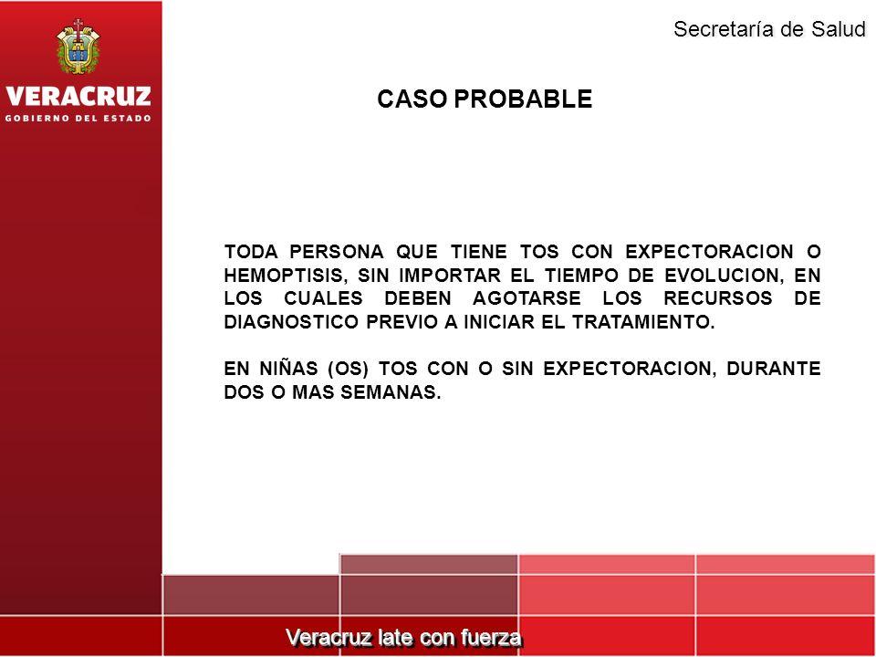 CASO PROBABLE