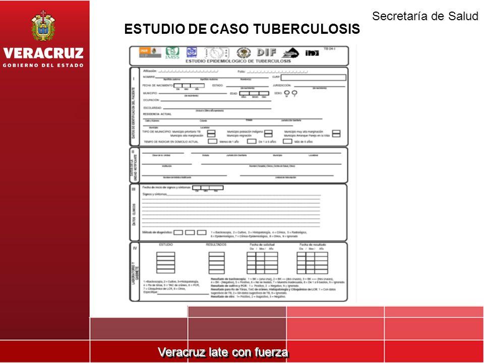 ESTUDIO DE CASO TUBERCULOSIS