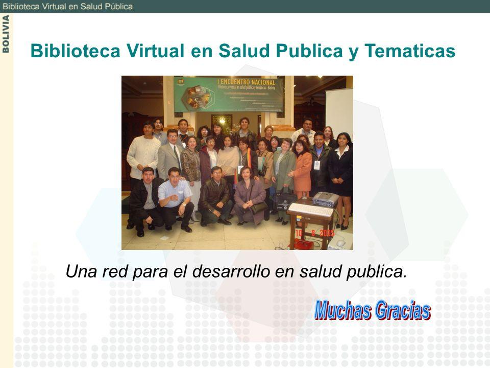 Biblioteca Virtual en Salud Publica y Tematicas