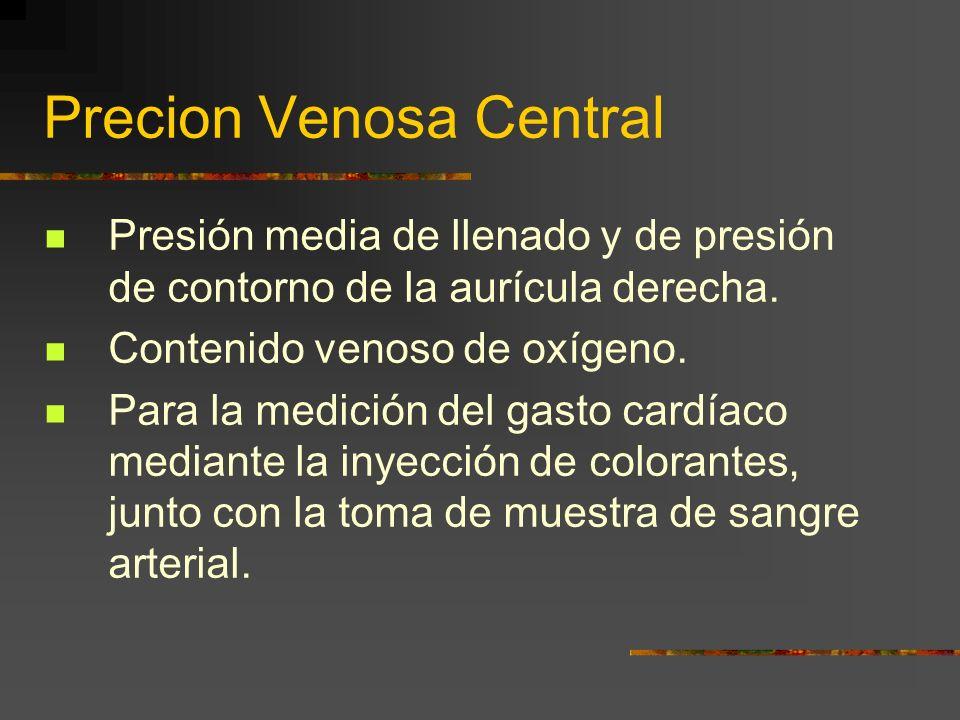Precion Venosa Central