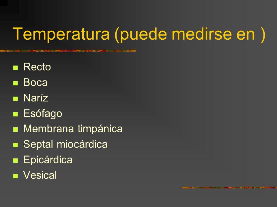 Temperatura (puede medirse en )
