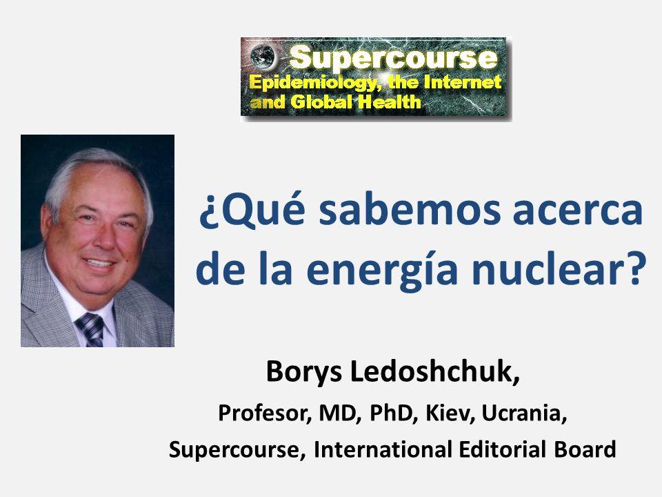 ¿Qué sabemos acerca de la energía nuclear