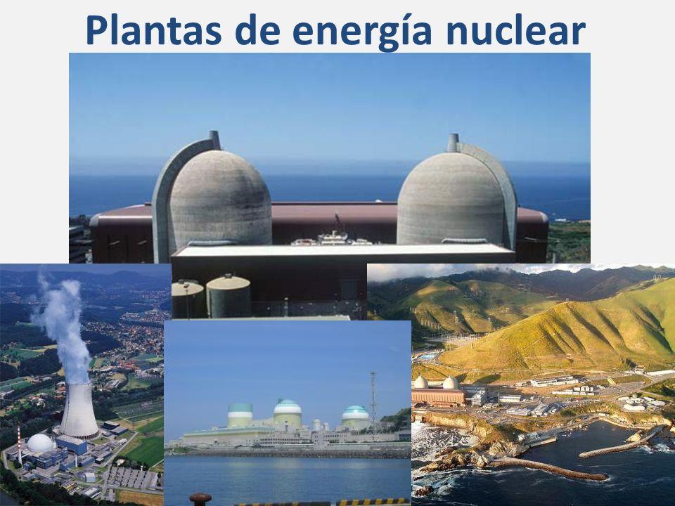 Plantas de energía nuclear