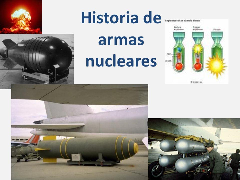 Historia de armas nucleares