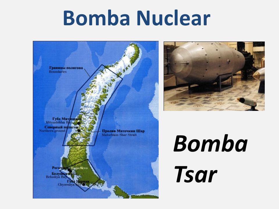 Bomba Tsar Bomba Nuclear