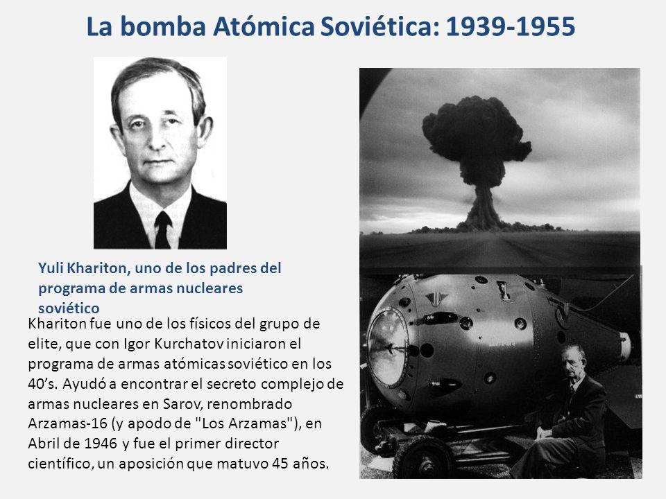 La bomba Atómica Soviética: 1939-1955
