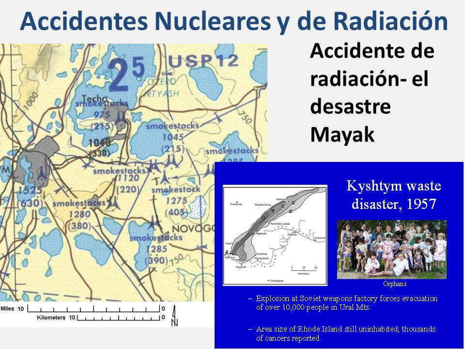 Accidentes Nucleares y de Radiación