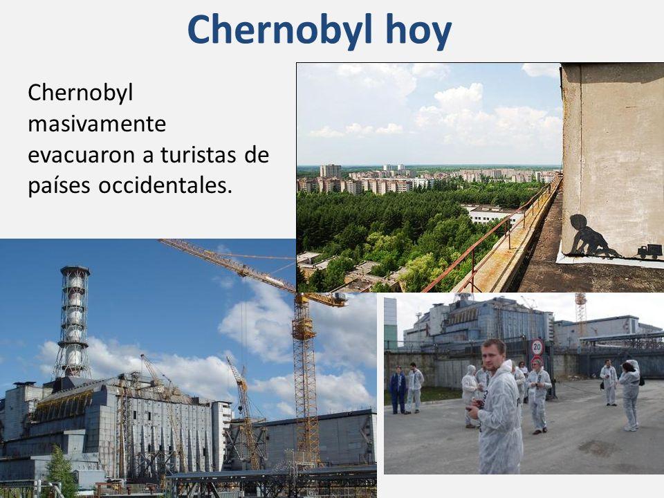 Chernobyl hoy Chernobyl masivamente evacuaron a turistas de países occidentales. http://www.travelling.kiev.ua.