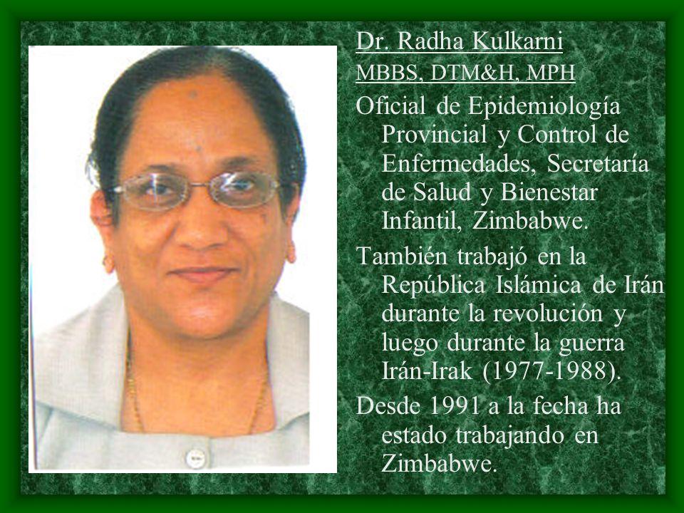 Desde 1991 a la fecha ha estado trabajando en Zimbabwe.