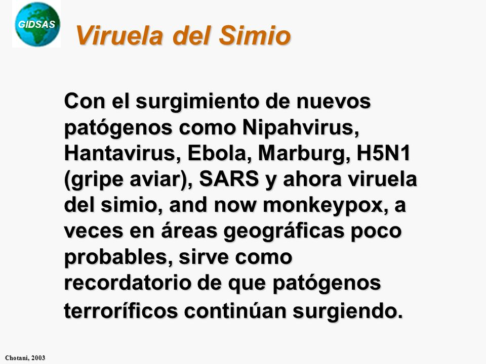Viruela del Simio
