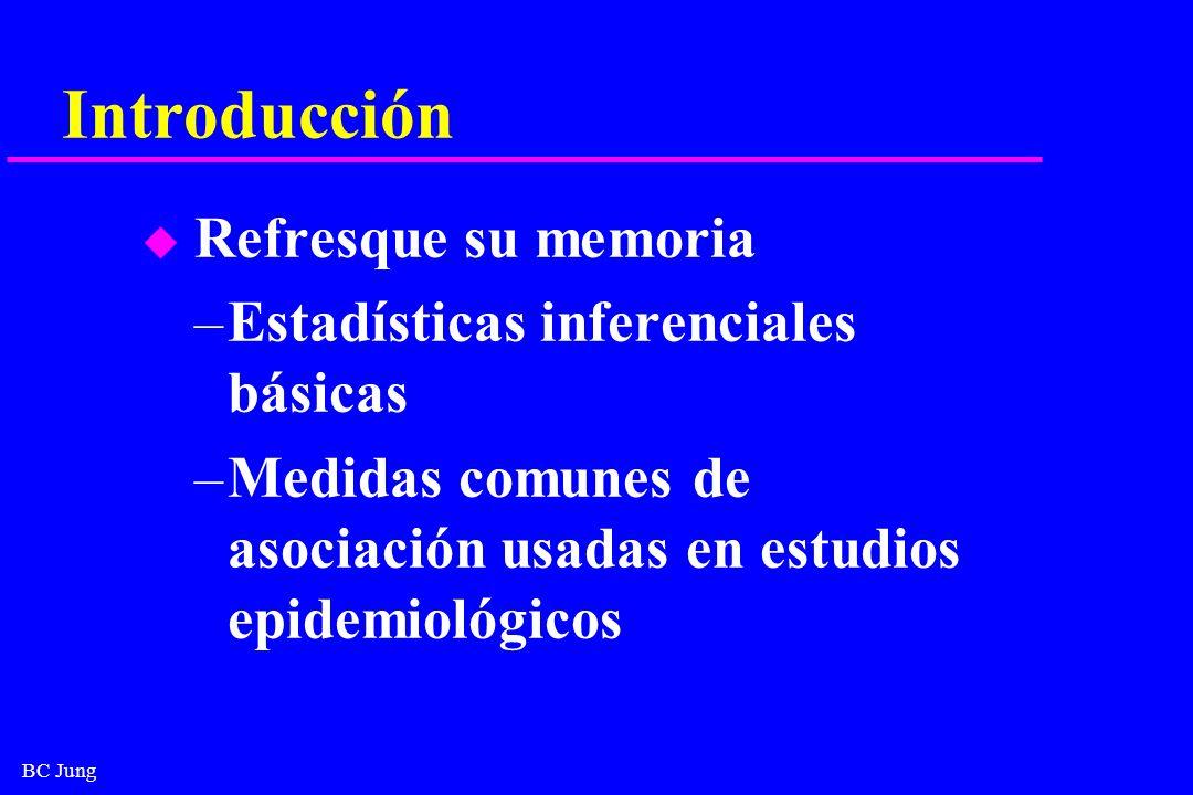 Introducción Estadísticas inferenciales básicas