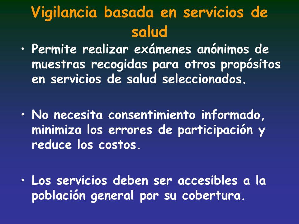 Vigilancia basada en servicios de salud
