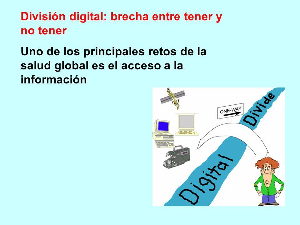 División digital: brecha entre tener y no tener