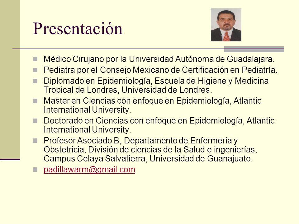 PresentaciónMédico Cirujano por la Universidad Autónoma de Guadalajara. Pediatra por el Consejo Mexicano de Certificación en Pediatría.