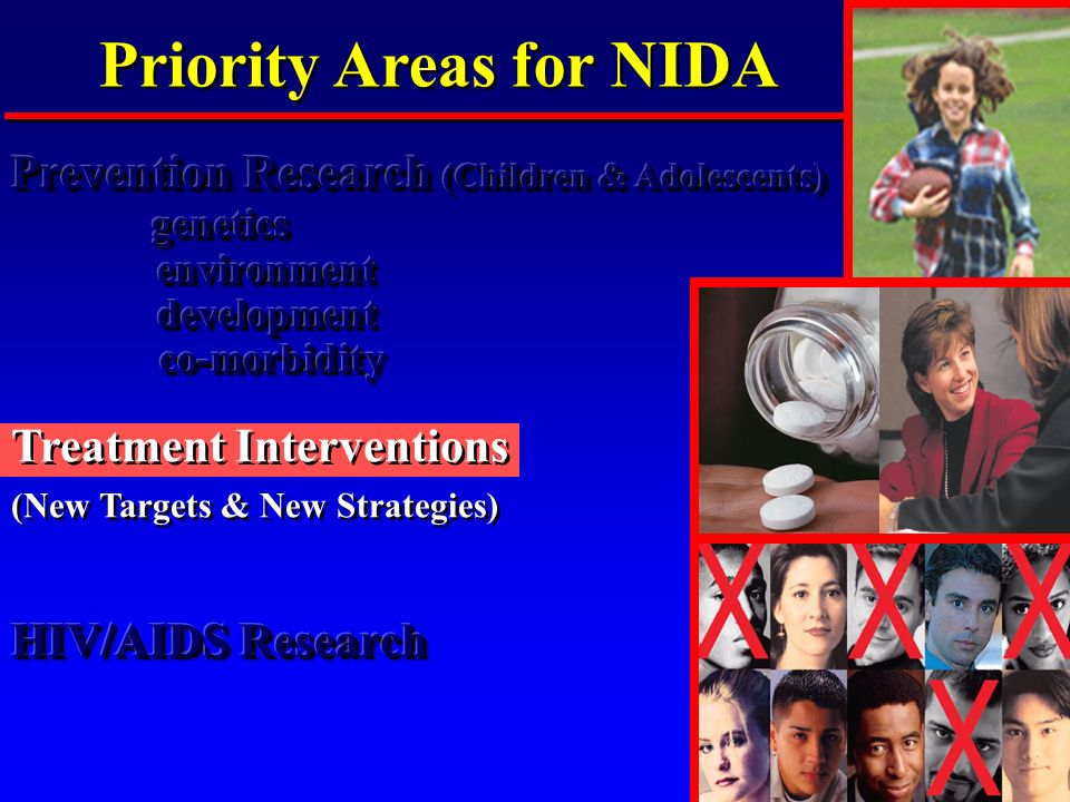 Priority Areas for NIDA