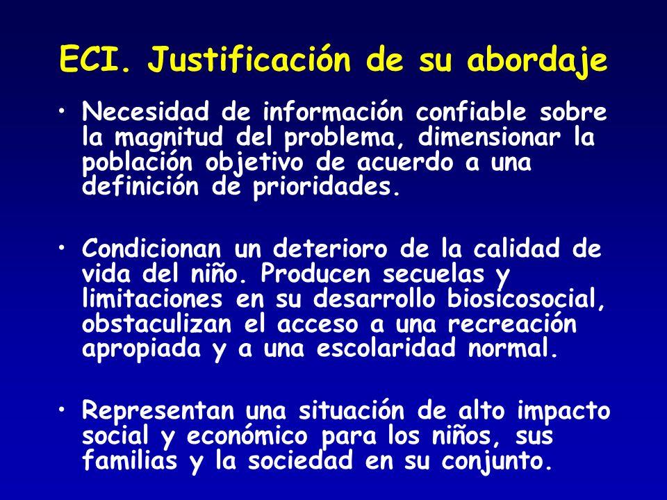 ECI. Justificación de su abordaje
