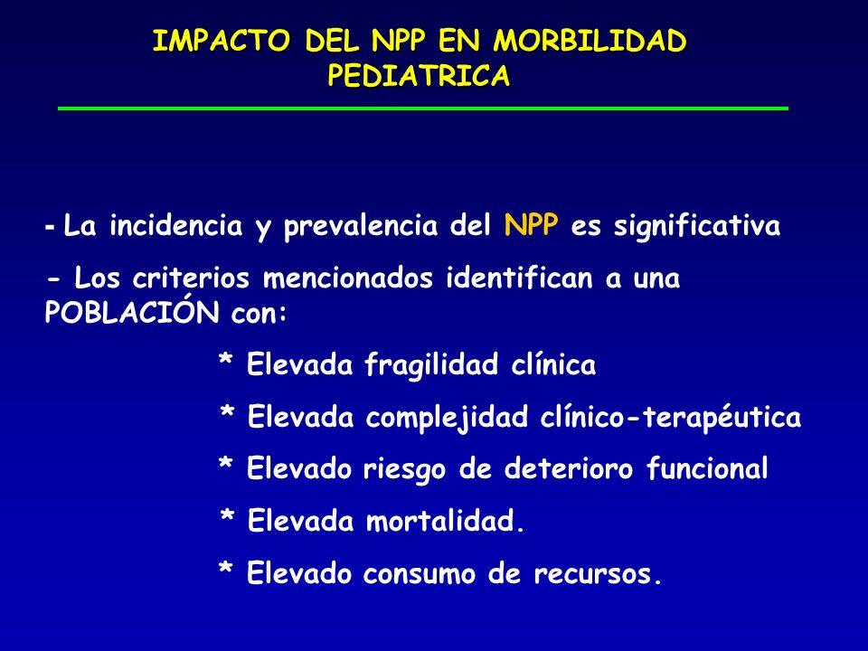 IMPACTO DEL NPP EN MORBILIDAD PEDIATRICA