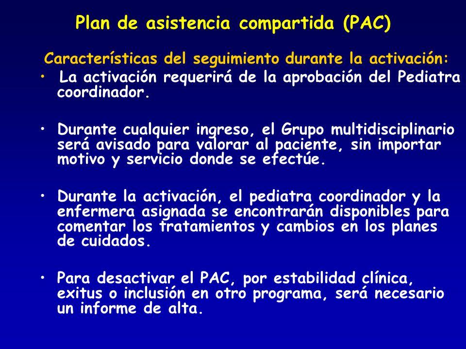 Plan de asistencia compartida (PAC)