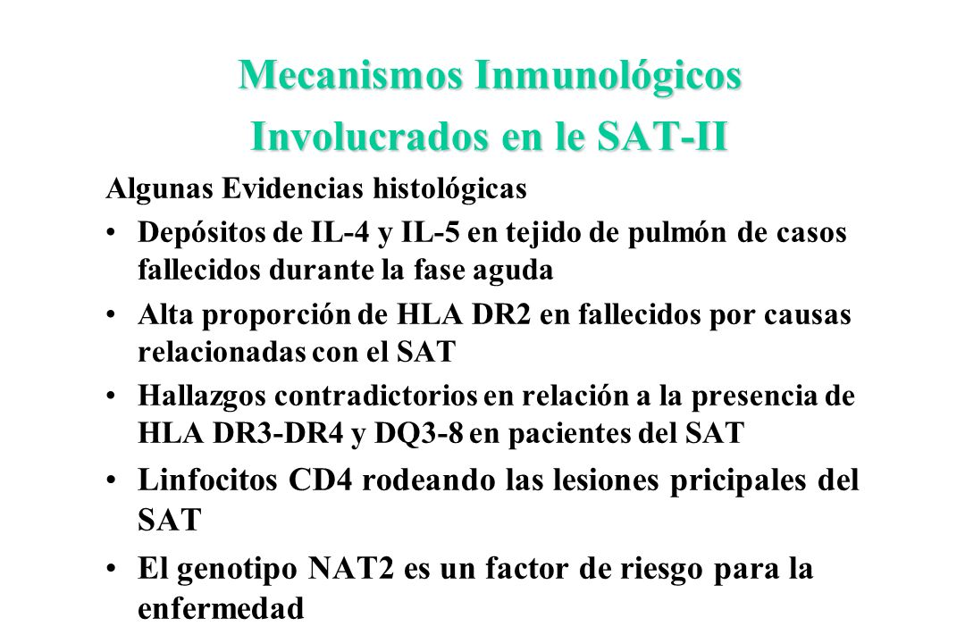 Mecanismos Inmunológicos