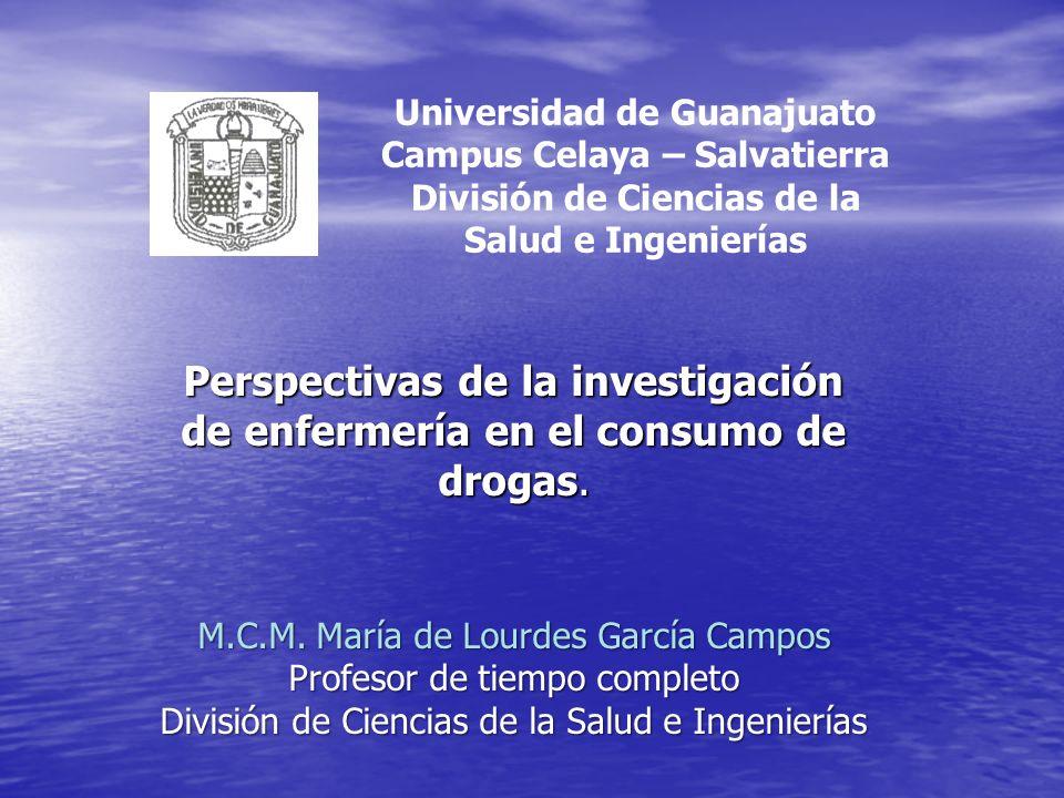 Universidad de Guanajuato Campus Celaya – Salvatierra División de Ciencias de la Salud e Ingenierías