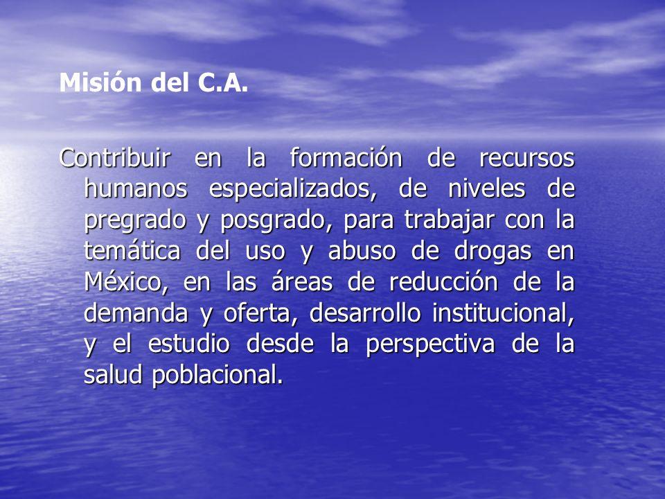 Misión del C.A.