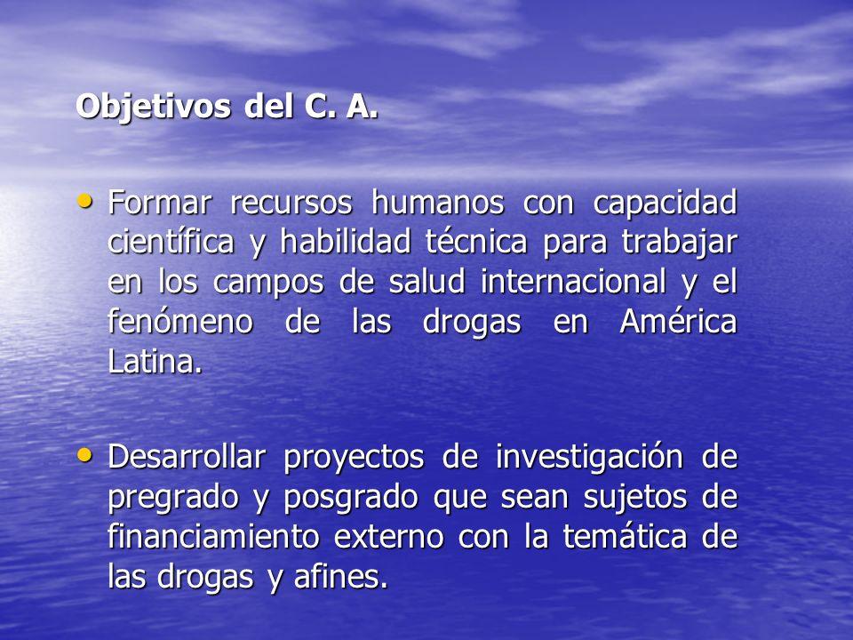 Objetivos del C. A.