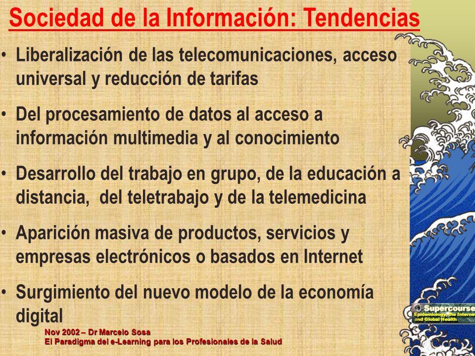 Sociedad de la Información: Tendencias