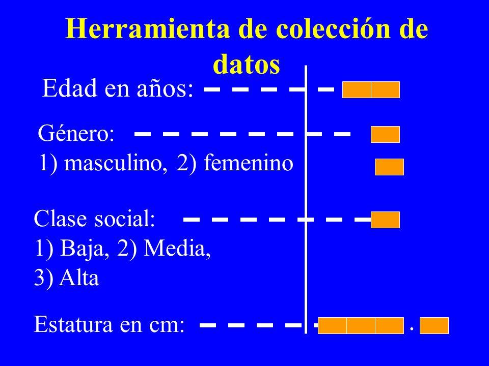 Herramienta de colección de datos