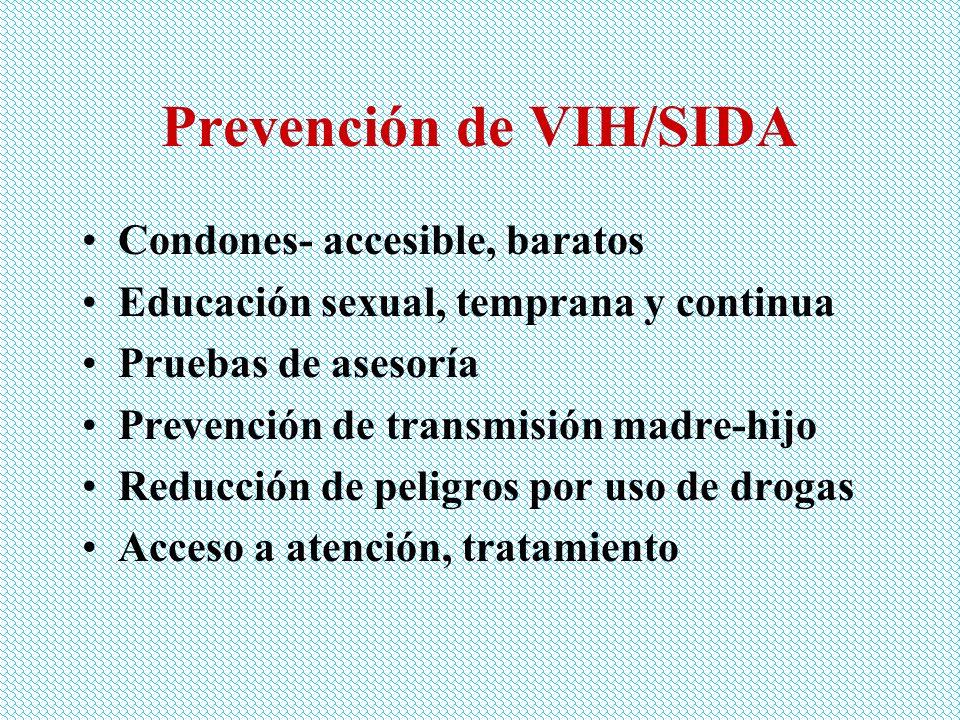 Prevención de VIH/SIDA