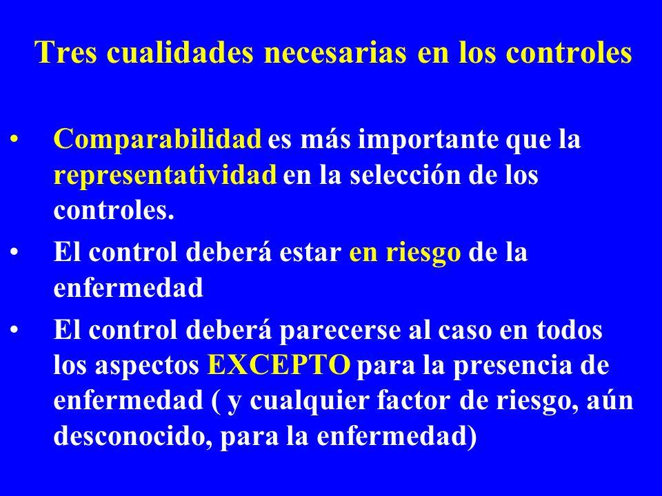 Tres cualidades necesarias en los controles