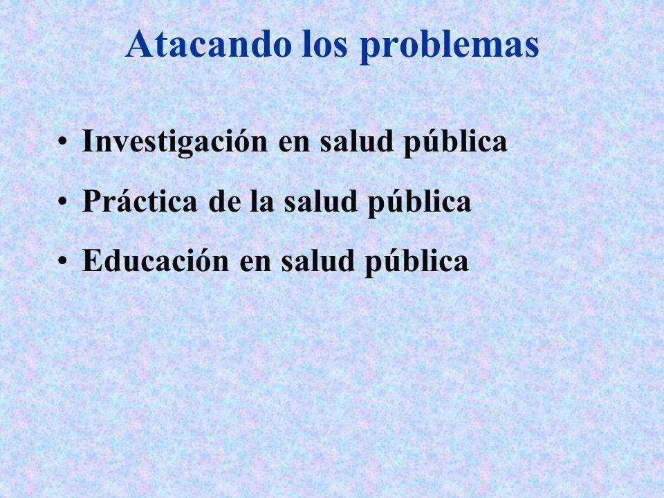 Atacando los problemas