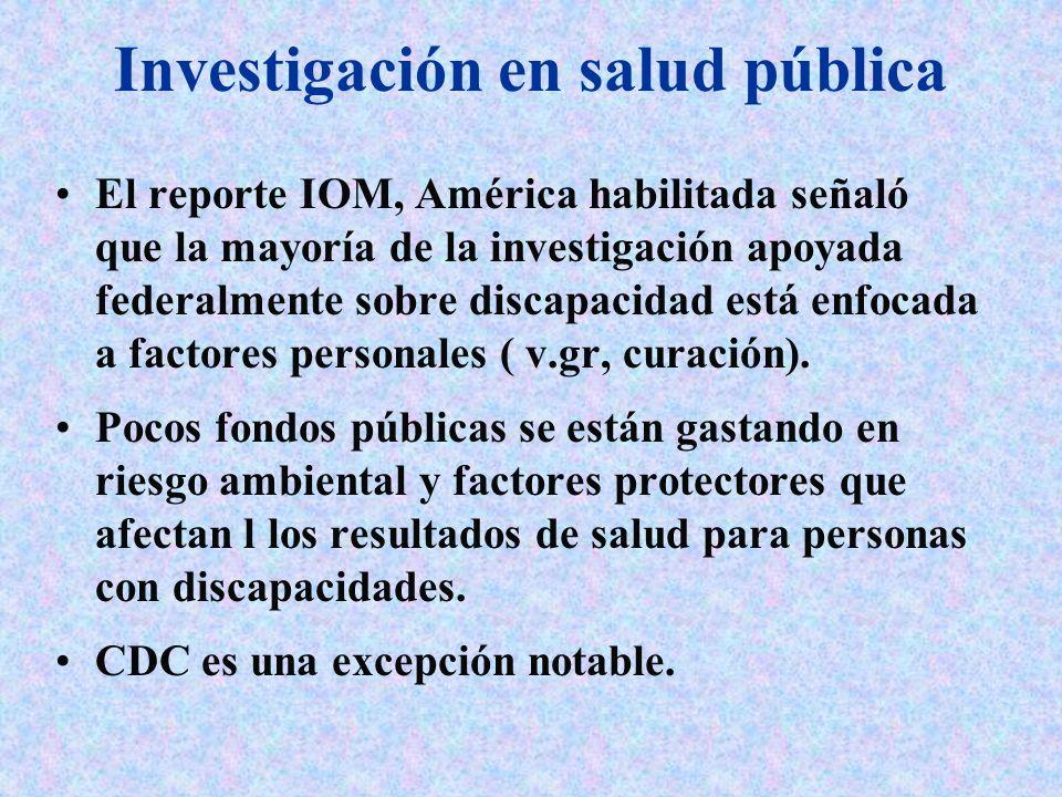 Investigación en salud pública
