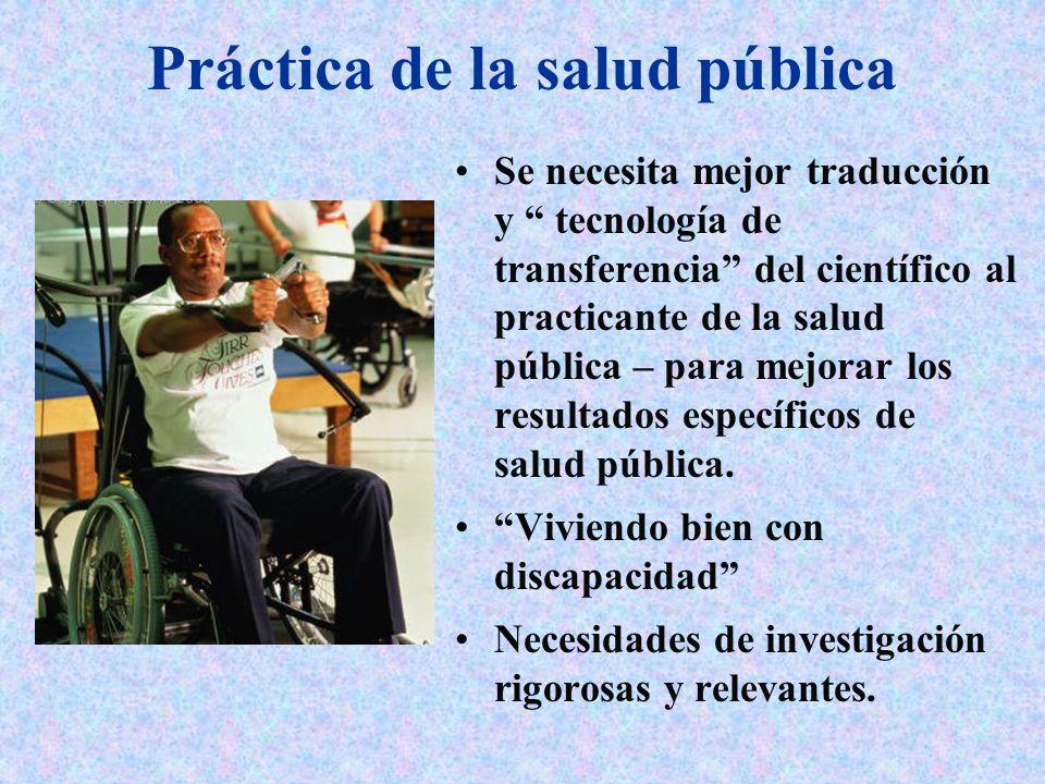Práctica de la salud pública