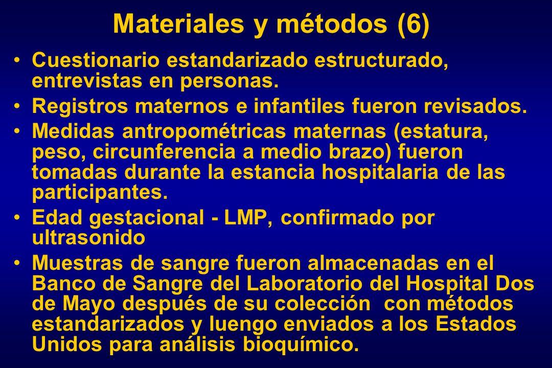 Materiales y métodos (6)