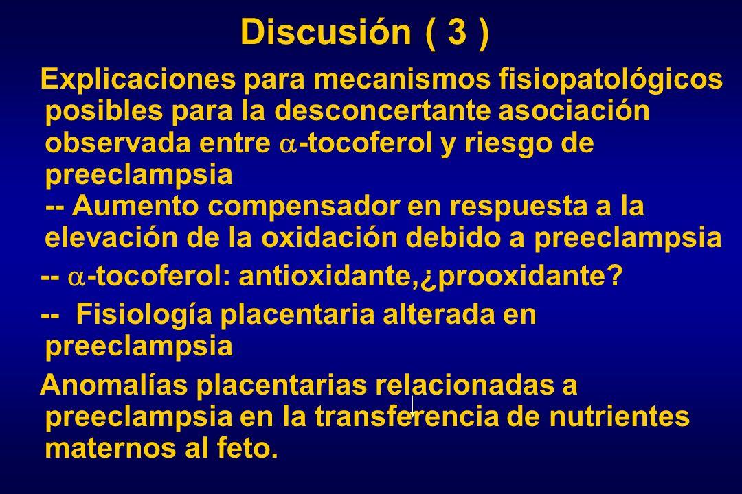 Discusión ( 3 )