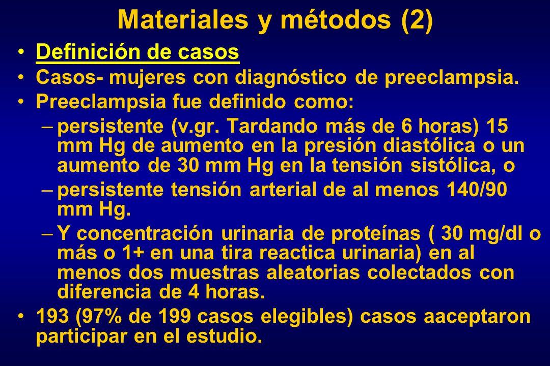 Materiales y métodos (2)
