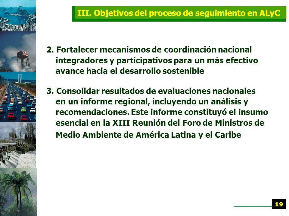 III. Objetivos del proceso de seguimiento en ALyC