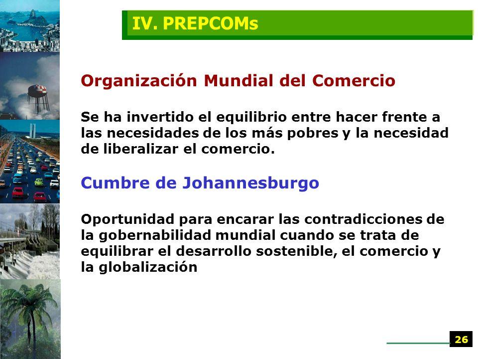 IV. PREPCOMs
