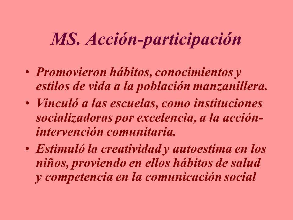 MS. Acción-participación