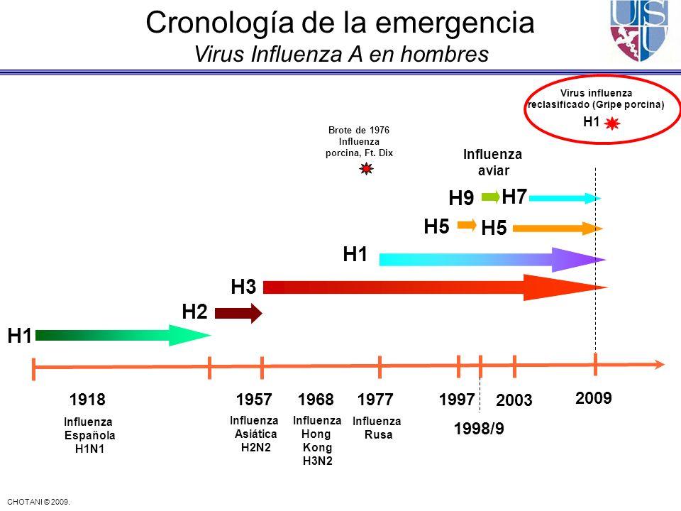 reclasificado (Gripe porcina) Brote de 1976 Influenza porcina, Ft. Dix
