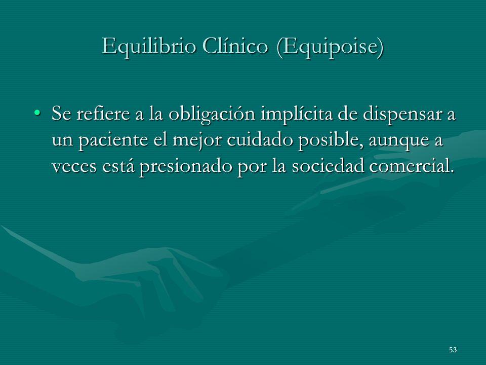 Equilibrio Clínico (Equipoise)