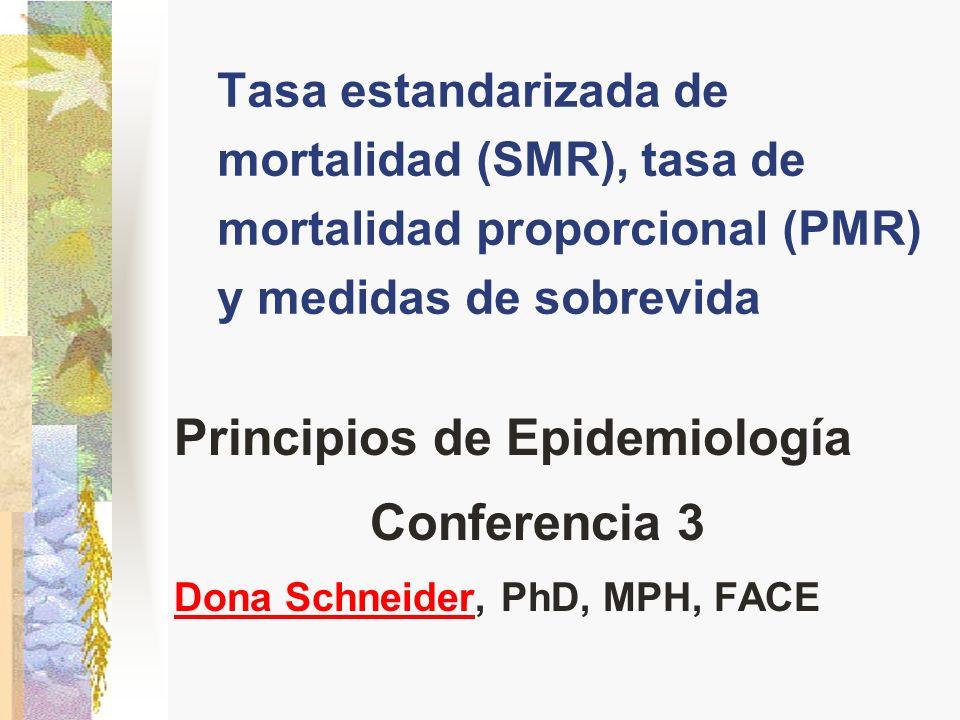 Principios de Epidemiología Conferencia 3