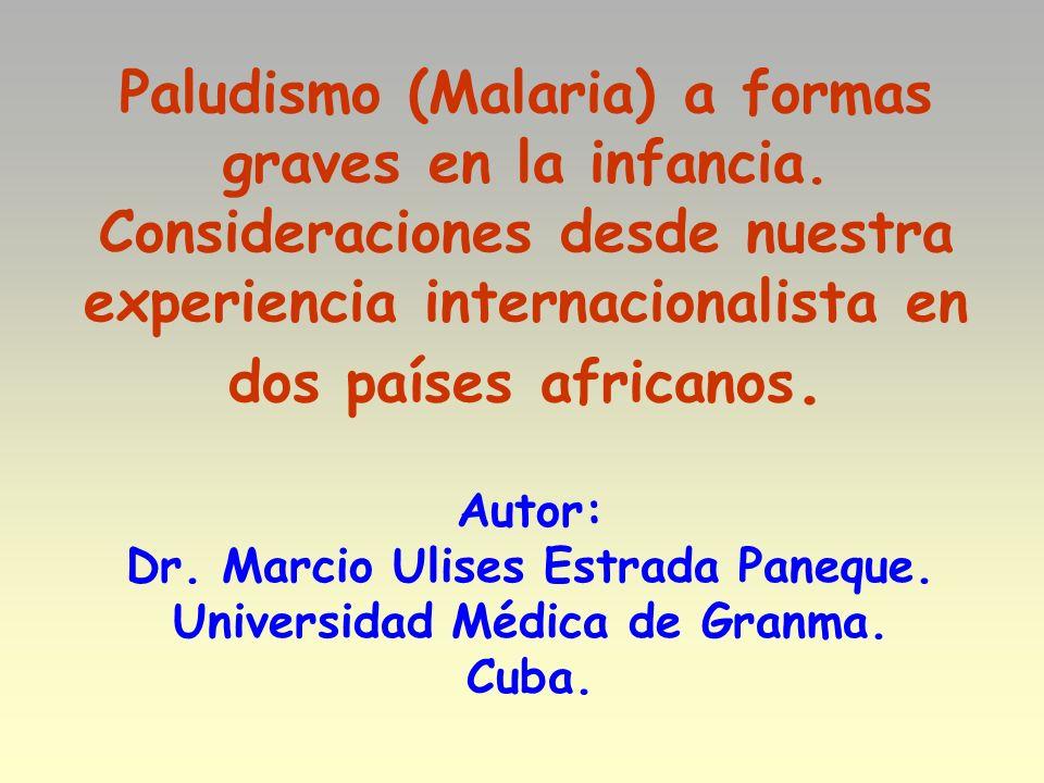 Dr. Marcio Ulises Estrada Paneque. Universidad Médica de Granma.