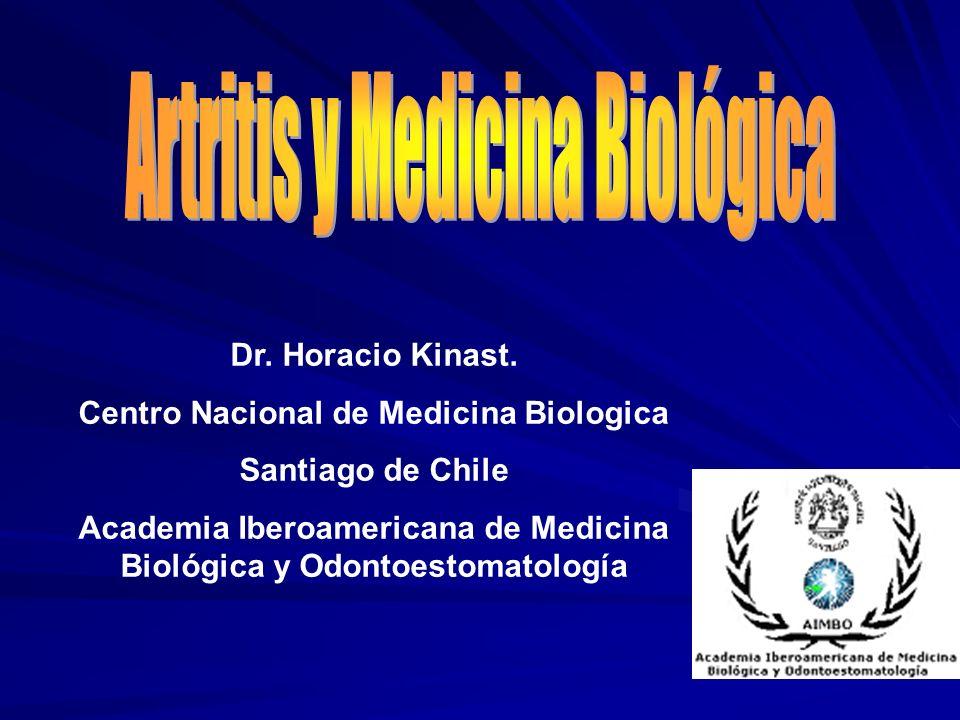 Artritis y Medicina Biológica