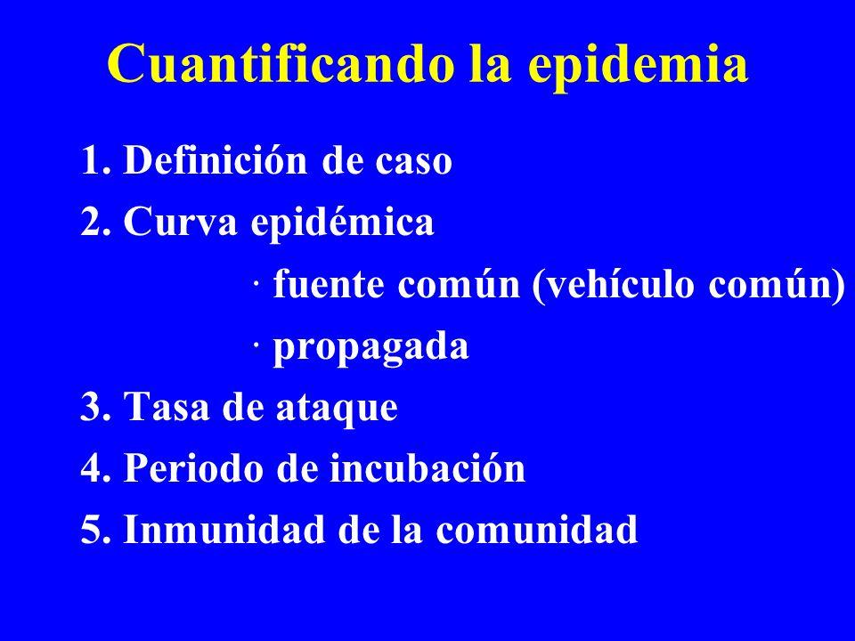 Cuantificando la epidemia