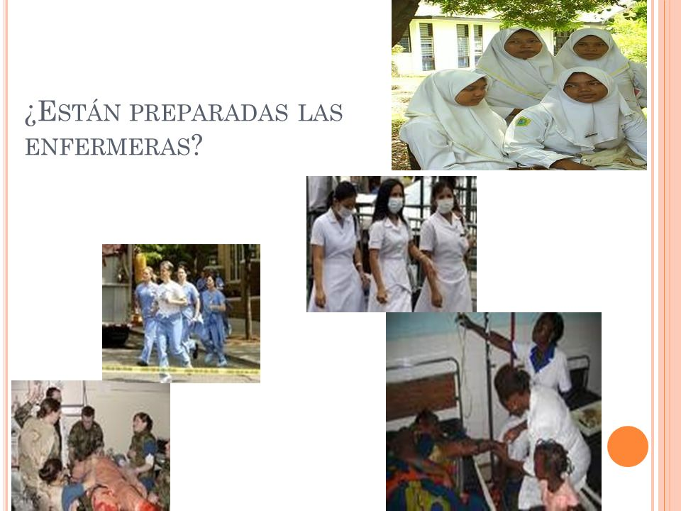 ¿Están preparadas las enfermeras