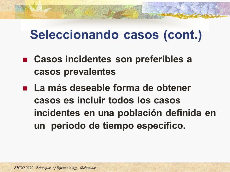 Seleccionando casos (cont.)
